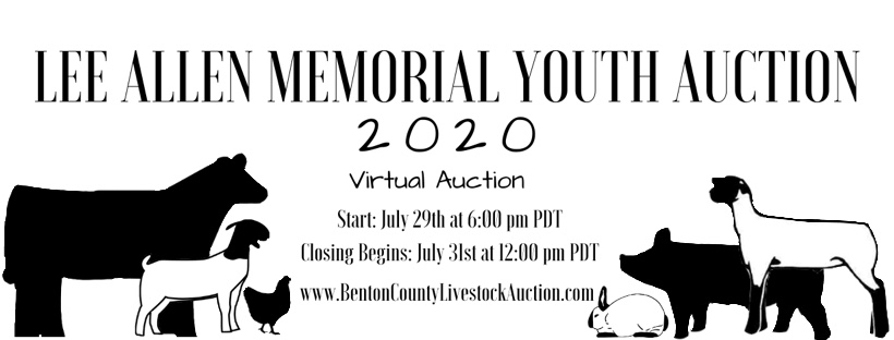 2020 Lee Allen Memorial Auction Instruction Header
